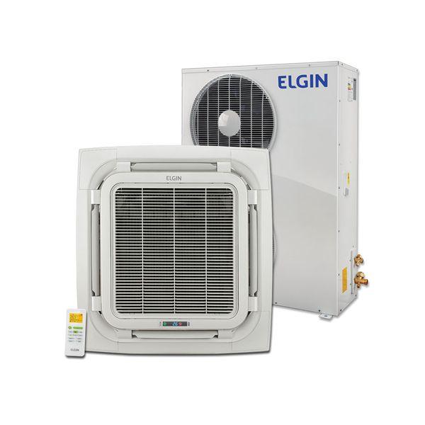 Ar-Condicionado-Split-Cassete-Elgin-360°-Eco-48000-BTU-h-Frio-KEFI48B2NA-Trifasico-–-380-volts