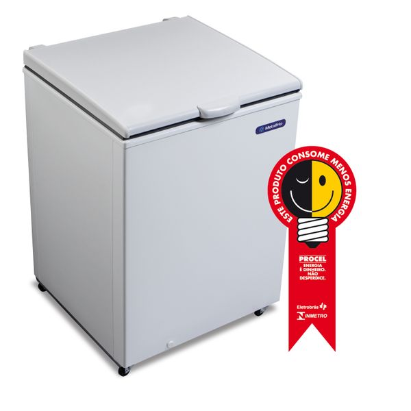 Freezer-Horizontal-Metalfrio-166L-DA170B2001–-127-Volts