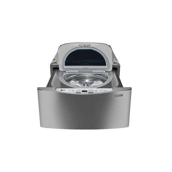 Lavadora-de-Roupas-LG-TWINWash-Mini-25kg-Aco-Escovado-WD100CV-–-127-Volts