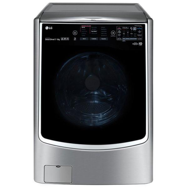 Lava-e-Seca-LG-Titan-Master-17Kg-Aco-Escovado-WD17VTS6A-–-220-Volts
