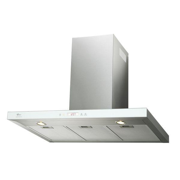 Coifa-de-Parede-Fischer-Infinity-90cm-Vidro-Branco-–-220-Volts