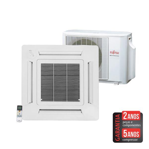 Ar-Condicionado-Split-Cassete-Inverter-Fujitsu-Compacto-23.000-BTU-h-Quente-e-Frio-AUBA24LBL