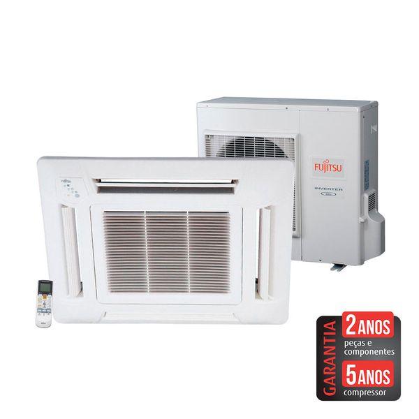 Ar-Condicionado-Split-Cassete-Inverter-Fujitsu-32.000-BTU-h-Quente-e-Frio