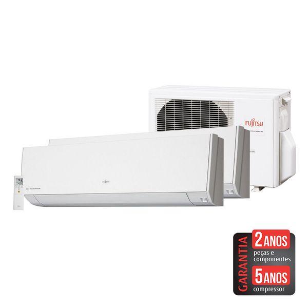 Ar-Condicionado-Multi-Split-Inverter-Fujitsu-14.000-BTU-h--1x9.000-e-1x12.000-BTU-h--Quente-e-Frio