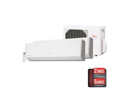 Ar-Condicionado-Multi-Split-Inverter-Fujitsu-14.000-BTU-h--1x7.000-e-1x12.000-BTU-h--Quente-e-Frio
