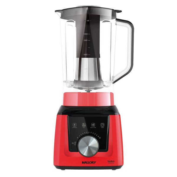 Liquidificador-Mallory-Taurus-Touch-Vermelho-–-220-Volts