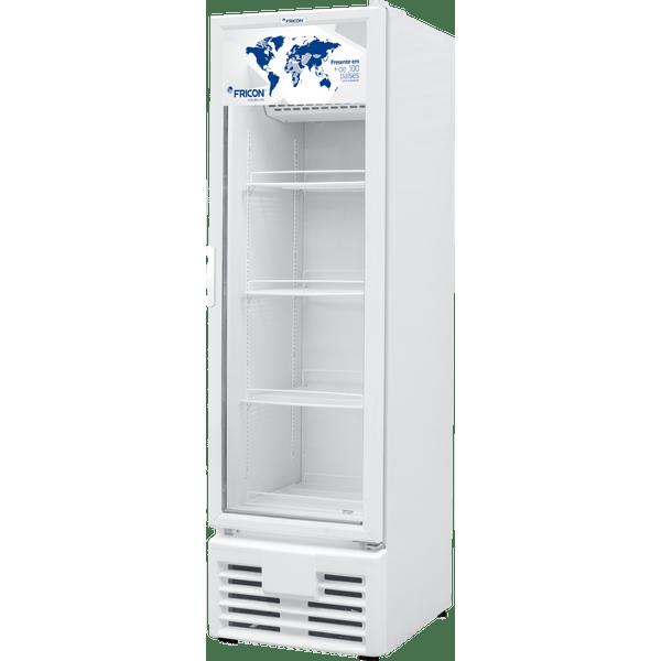 Freezer-Vertical-Fricon-Dupla-Acao-Porta-de-Vidro-VCED-284L-–-220-Volts