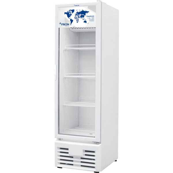 Freezer-Vertical-Fricon-Dupla-Acao-Porta-de-Vidro-VCED-284L-–-127-Volts