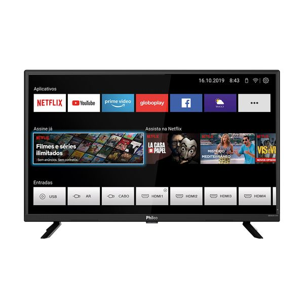 "Smart-TV-Philco-Led-32""-PTV32G52S-–-Bivolt"