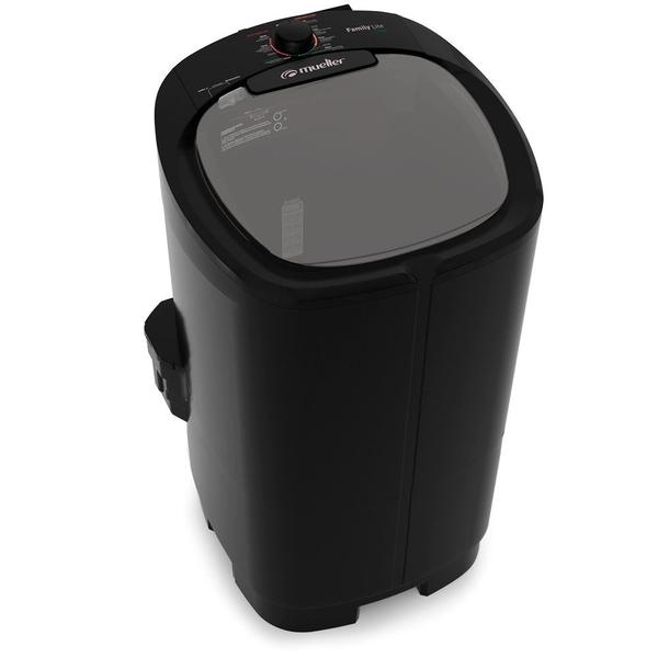 Lavadora Semiautomática Mueller Family Lite 10kg Preta – 220 Volts