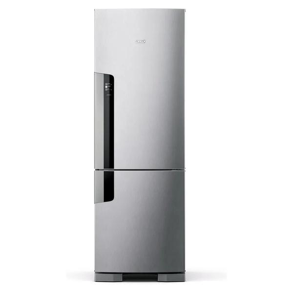 Refrigerador-Consul-Frost-Free-Duplex-397-Litros-Evox-com-Freezer-Embaixo-CRE44AK-–-127-Volts-