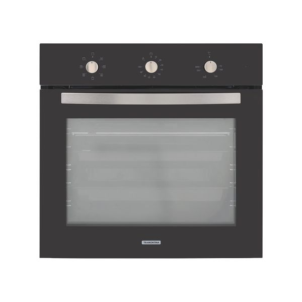 Forno-Eletrico-de-Embutir-Tramontina-New-Glass-Cook-Preto-–-220-Volts