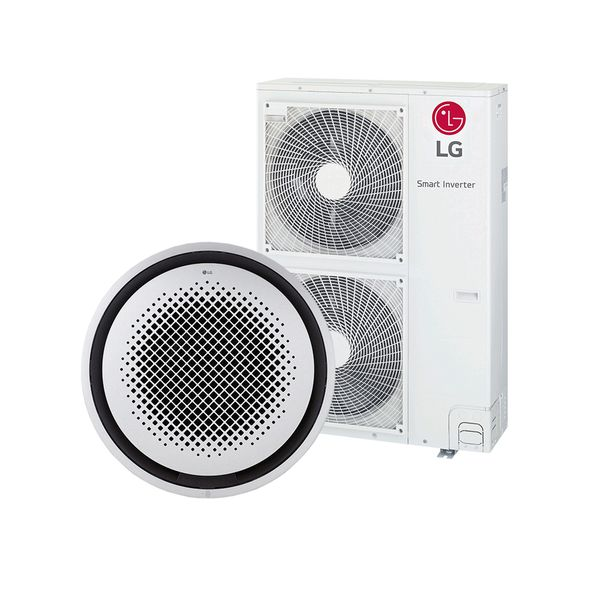 Ar-Condicionado-Split-Cassete-Inverter-LG-Redondo--Round--60.000-BTU-h-Quente-e-Frio---220-Volts