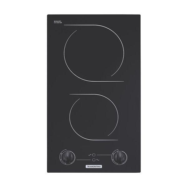 Cooktop-Eletrico-Vitroceramico-Tramontina-Domino-2-Bocas-2EV-30-–-220-Volts