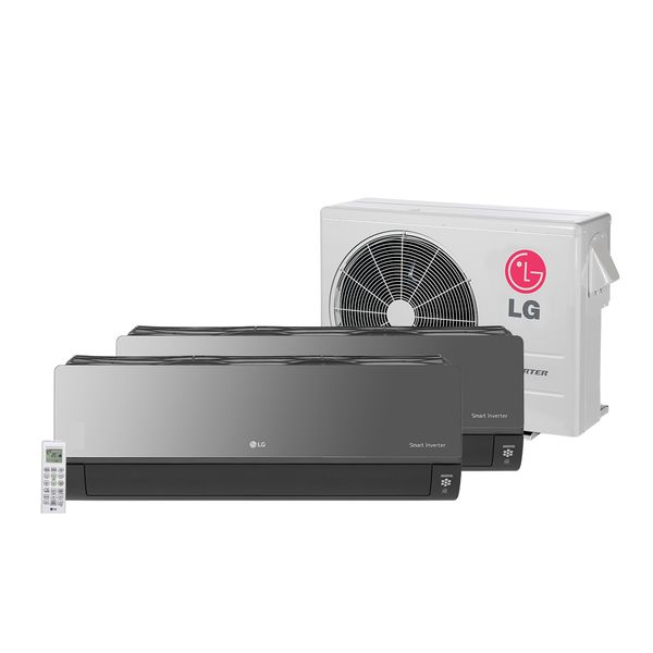 Ar-Condicionado-Multi-Split-Inverter-LG-Artcool-1X7.000-e-1X12.000-BTU-h-Quente-e-Frio---220-Volts