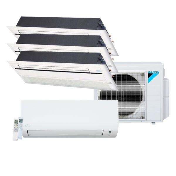 Ar-Condicionado-Multi-Split-Inverter-Daikin-Advance-1x9.000-e-Cassete-1-Via-2x12.000-e-1x18.000-BTU-h-Quente-e-Frio-Monofasico-–-220-Volts
