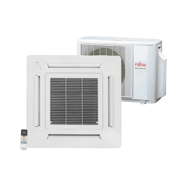 Ar-Condicionado-Split-Cassete-Inverter-Fujitsu-Compacto-24.000-BTU-h-Quente-e-Frio-Monofasico-AUBG24LVBA-–-220-Volts-