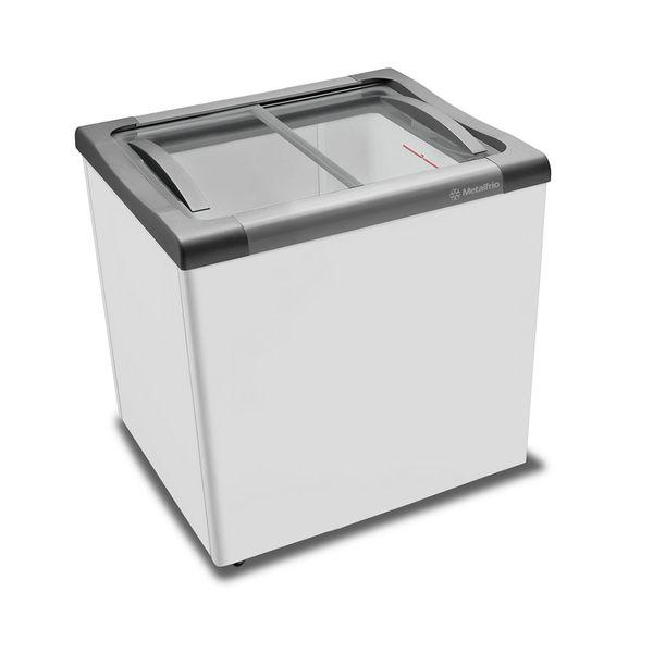 Freezer-Horizontal-Metalfrio-180-Litros-para-Sorvetes-e-Congelados-Nextgen-Supra-Branco-NF20S-–-220-Volts-