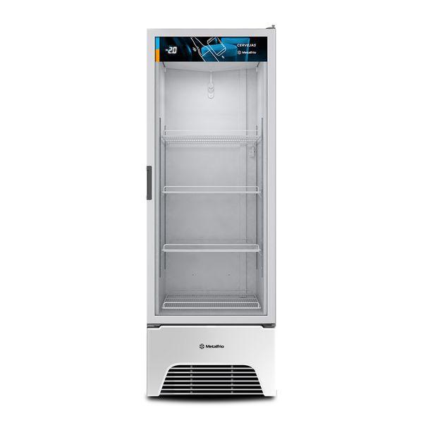 Cervejeira-Metalfrio-572-Litros-Optima-Porta-de-Vidro-Branca-VN50AH-–-220-volts