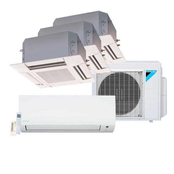 Ar-Condicionado-Multi-Split-Inverter-Daikin-Advance-1x9.000-e-Cassete-4-Vias-3x12.000-BTU-h-Quente-e-Frio-Monofasico-S4MXS2809P-–-220-Volts