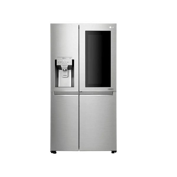 Refrigerador-Smart-LG-Side-by-Side-601-Litros-Inverter-com-InstaView-Door-in-Door-e-Hygiene-Fresh-Inox-GC-X247CSBV-–-127-Volts
