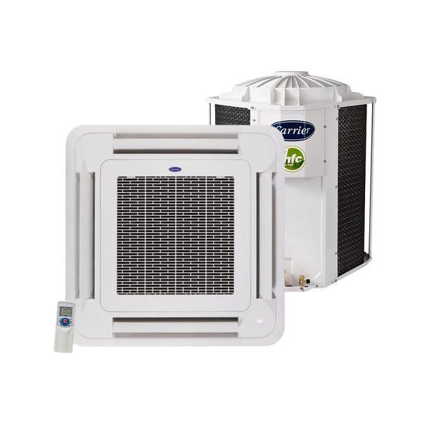 Ar-Condicionado-Split-Cassete-Carrier-55.000-BTU-h-Quente-e-Frio-Trifasico-40KWQU60C5-–-380-Volts