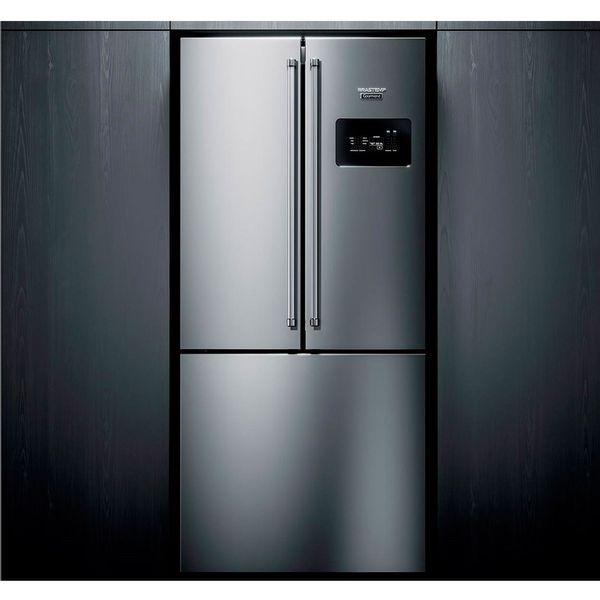 Refrigerador-Brastemp-Gourmand-Frost-Free-540-Litros-Side-Inverse-com-Ice-Maker-Inox-BRO81AR-–-127-Volts-