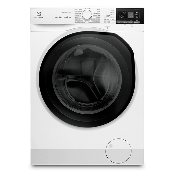 Lava-e-Seca-Electrolux-8-Kg-Perfect-Care-Inverter-com-Agua-Quente-e-Vapor-Branca-LSP08-–-127-Volts-