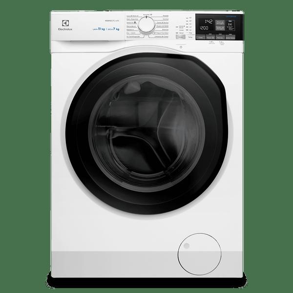 Lava-e-Seca-Electrolux-11-Kg-Perfect-Care-Inverter-com-Agua-Quente-e-Vapor-Branca-LSP11-–-127-Volts-