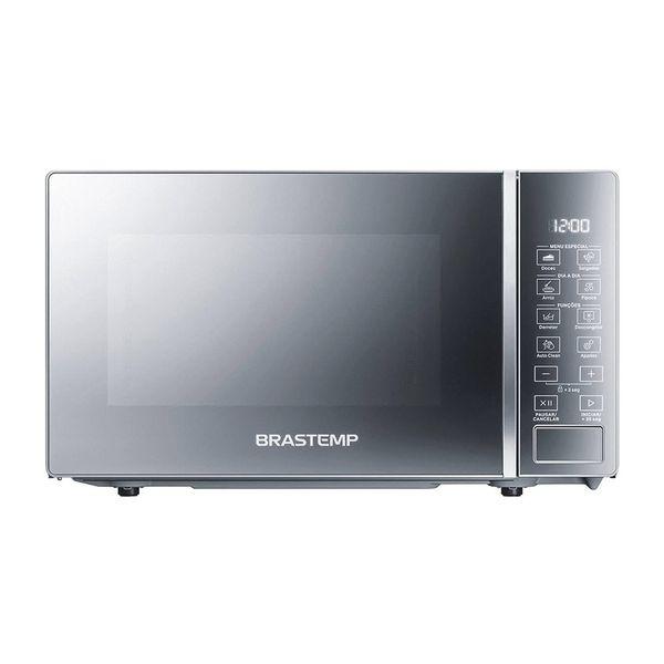 Micro-ondas-Brastemp-20-Litros-com-Funcoes-Pre-preparo-Inox-Espelhado-BMS20AR-–-127-Volts