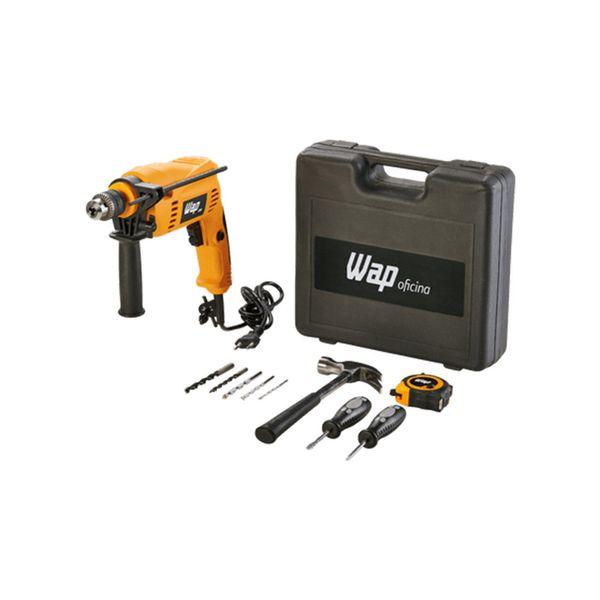 Furadeira-Eletrica-de-Impacto-Wap-Amarela-EFI-600K10-–-220-Volts