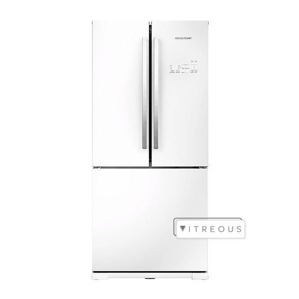 Refrigerador-Brastemp-Frost-Free-540-Litros-Side-Inverse-Vitreous-Branco-GRO80AB-–-127-Volts