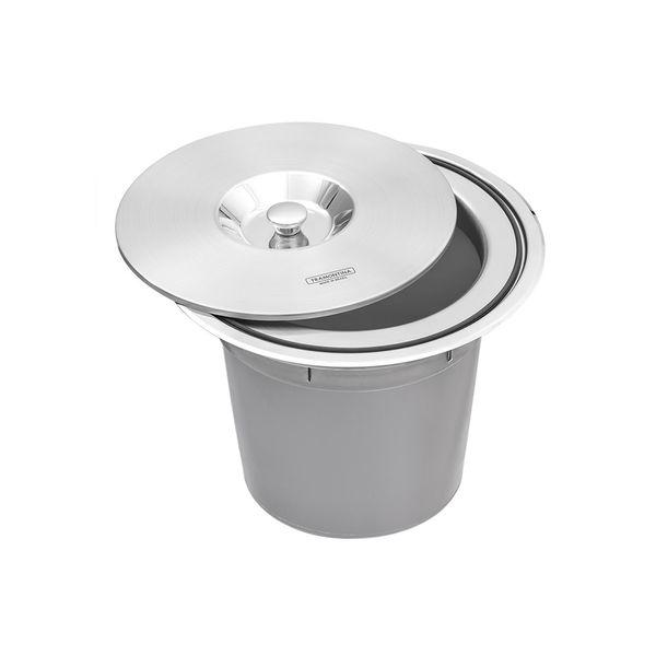 Lixeira-de-Embutir-Tramontina-8-Litros-Clean-Round-com-Balde-Plastico-em-Aco-Inox