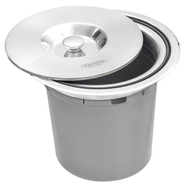 Lixeira-de-Embutir-Tramontina-5-Litros-Clean-Round-com-Balde-Plastico-em-Aco-Inox
