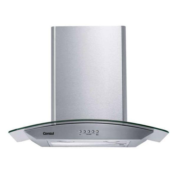 Coifa-de-Parede-Consul-60cm-4-Bocas-com-Design-em-Vidro-e-Aviso-Lavar-Filtro-Inox-CAP60AR-–-220-Volts