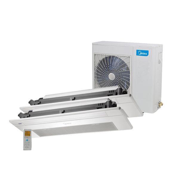 Ar-Condicionado-Multi-Split-Inverter-Springer-Midea-Cassete-1-Via-1x9.000-e-1x12.000-BTU-h-Quente-e-Frio-Monofasico-38MBBA18M5-–-220-Volts
