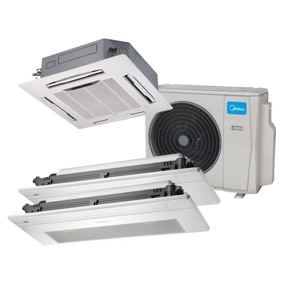 Ar-Condicionado-Multi-Split-Inverter-Springer-Midea-Cassete-1-Via-2x9.000-e-4-Vias-1x18.000-BTU-h-Quente-e-Frio-Monofasico-38MBTA27M5-–-220-Volts