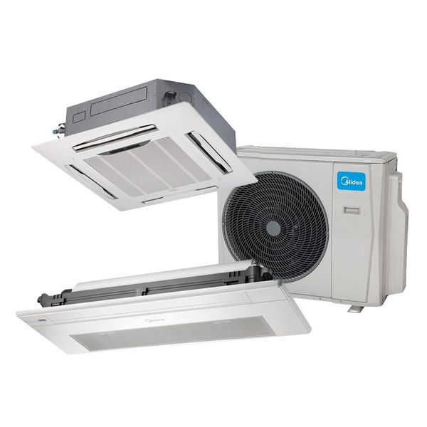 Ar-Condicionado-Multi-Split-Inverter-Springer-Midea-Cassete-1-Via-1x12.000-e-4-Vias-1x12.000-BTU-h-Quente-e-Frio-Monofasico-38MBBA18M5-–-220-Volts