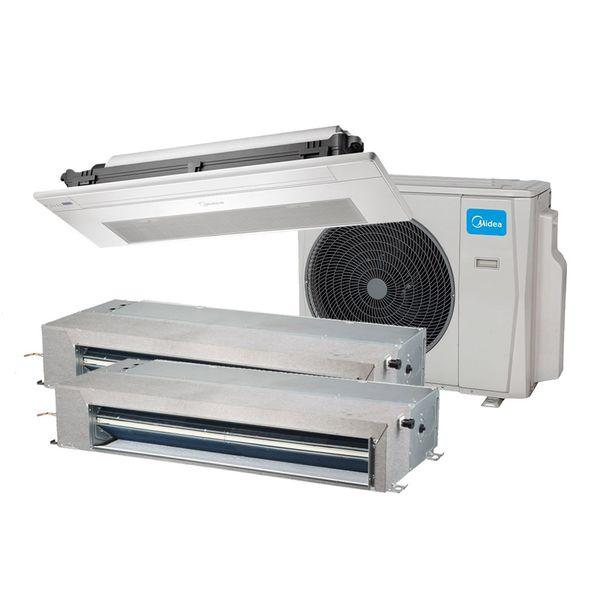 Ar-Condicionado-Multi-Split-Inverter-Springer-Midea-Duto-2x12.000-e-Cassete-1-Via-12.000-BTU-h-Quente-e-Frio-Monofasico-38MBTA27M5-–-220-Volts
