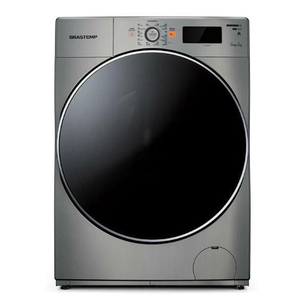 Lava-e-Seca-Brastemp-10Kg-Agua-Quente-com-Ciclo-Tira-Manchas-Pro-e-Ciclo-1h-Pronto-para-Vestir-Prata-BNQ10AS-–-127-Volts