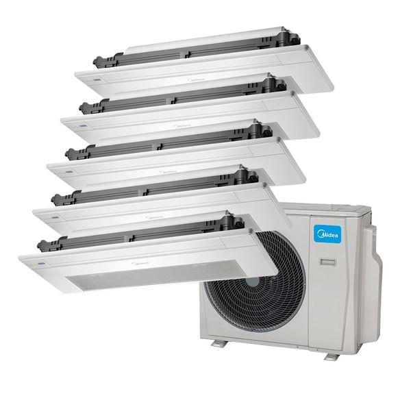 Ar-Condicionado-Multi-Split-Inverter-Springer-Midea-Cassete-1-Via-1x9.000-e-4x12.000-BTU-h-Quente-e-Frio-Monofasico-38MBPA42M5-–-220-Volts