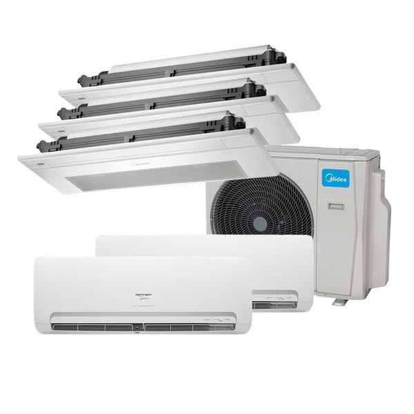 Ar-Condicionado-Multi-Split-Inverter-Springer-Midea-2x9.000-e-Cassete-1-Via-3x9.000-BTU-h-Quente-e-Frio-Monofasico-38MBPA42M5-–-220-Volts