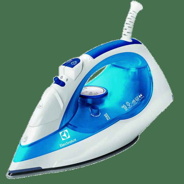 Ferro-a-Vapor-Electrolux-SteamLine-Azul-com-apoio-de-silicone-SIV12-–-220-Volts