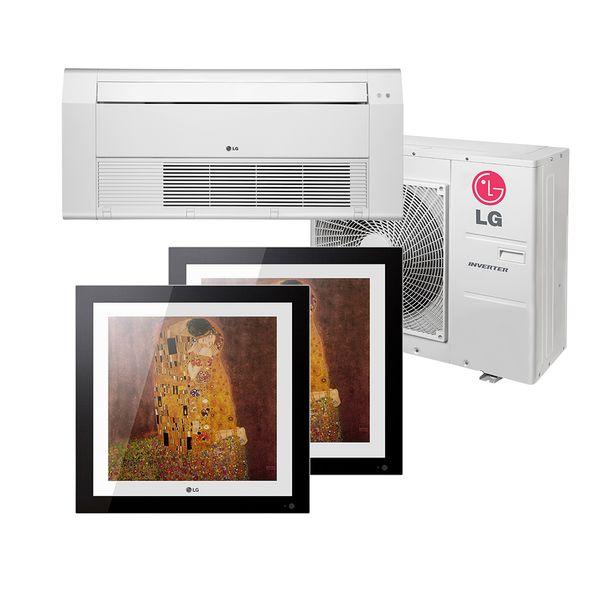 Ar-Condicionado-Multi-Split-Inverter-LG-Gallery-2x12.000-e-Cassete-1-Via-18.000-BTU-h-Quente-e-Frio-Monofasico-A4UW30GFA2.AWGZBRZ-–-220-Volts