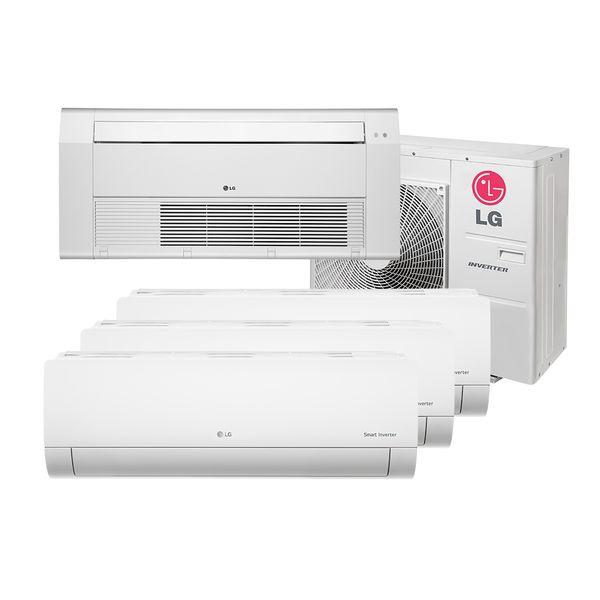 Ar-Condicionado-Multi-Split-Inverter-LG-3x9.000-e-Cassete-1-Via-1x18.000-BTU-h-Quente-e-Frio-Monofasico-A4UW30GFA2.AWGZBRZ-–-220-Volts