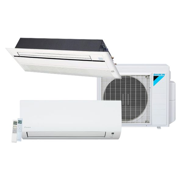 Ar-Condicionado-Multi-Split-Inverter-Daikin-Advance-1x12.000-e-Cassete-1-Via-1x12.000-BTU-h-Quente-e-Frio-Monofasico-S3MXS1812P-–-220-Volts