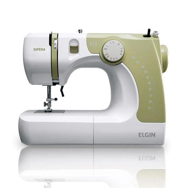 Maquina-de-Costura-Elgin-Superia-Branca-e-Verde-JX-2050-–-127-Volts