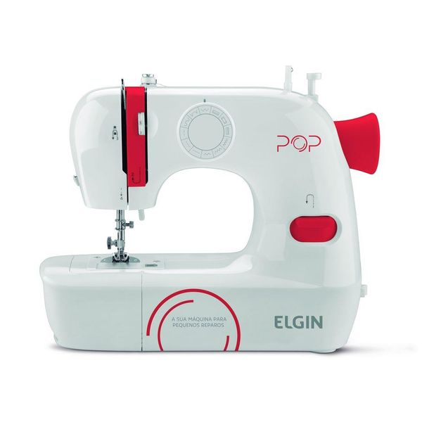Maquina-de-Costura-Elgin-Pop-Branca-e-Vermelha-BL-1009-–-Bivolt
