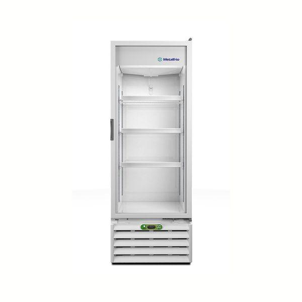 Expositor-Vertical-Metalfrio-406-Litros-Porta-de-Vidro-Branco-VB40RL-–-127-Volts-