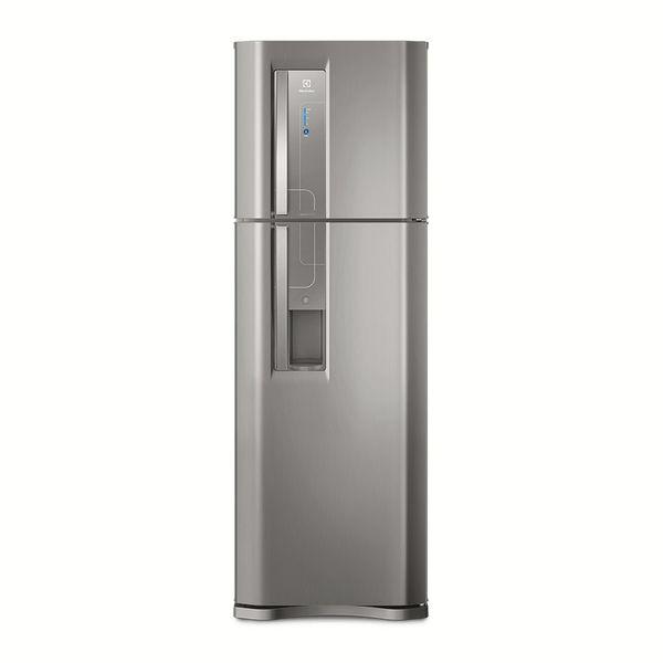Refrigerador-Electrolux-Frost-Free-382-Litros-Top-Freezer-com-Dispenser-de-Agua-Platinum-TW42S-–-220-Volts